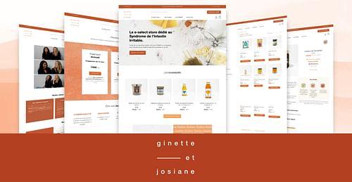 Ginette et Josiane : Création site e-commerce - E-commerce