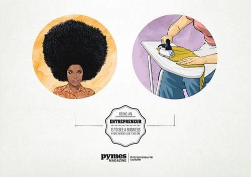 Hair Iron - Publicidad
