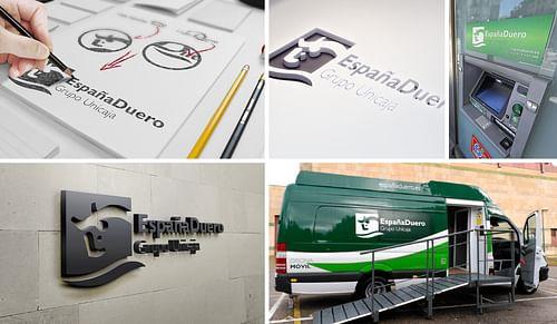 Logotipo Banco EspañaDuero - Branding y posicionamiento de marca