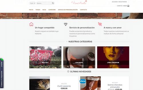 Tienda online VivesAcosta (vivesacosta.com) - Creación de Sitios Web