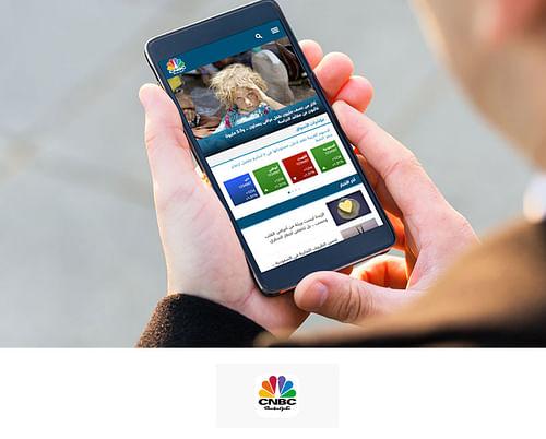 CNBC Arabia Mobile App Development - Mobile App