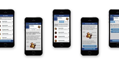 Mobile Landingpage für Vontobel - Werbung