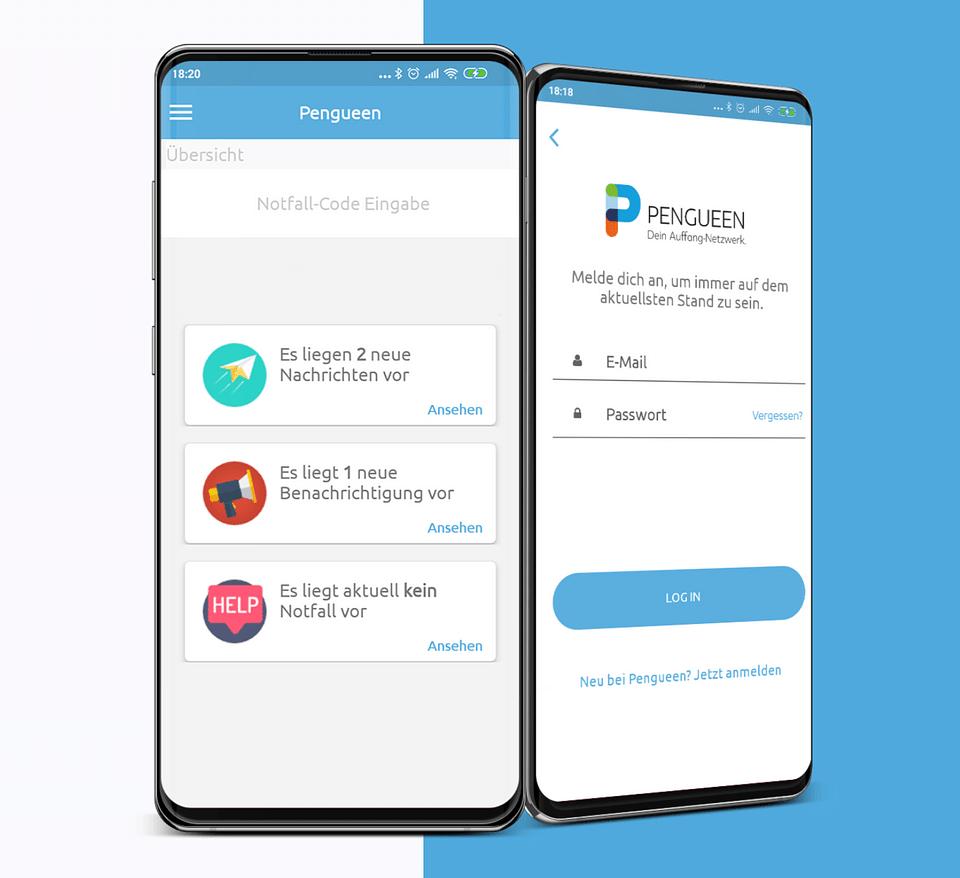Pengueen | Notfall Alarm App