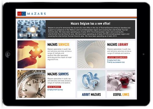 Mazars Belgium App - Mobile App