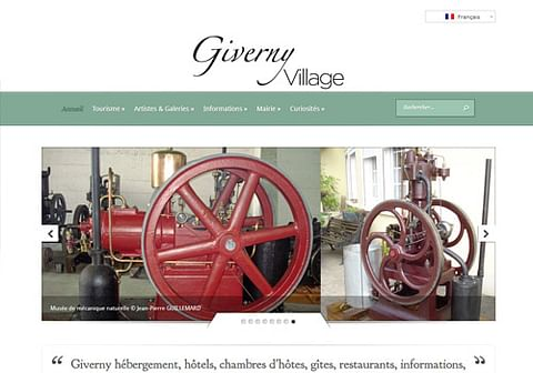 Site de la ville de Giverny