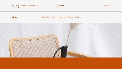Orence - Website Creatie