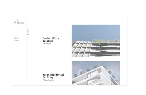 Cedrus Architects - Website Creation