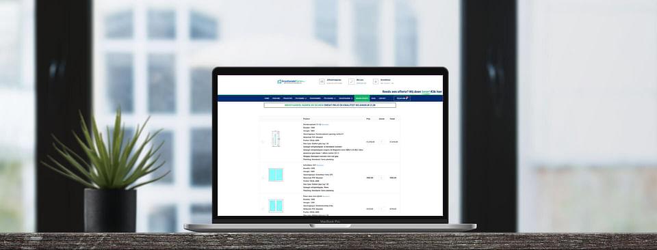Online offerte tool voor ramen en deuren