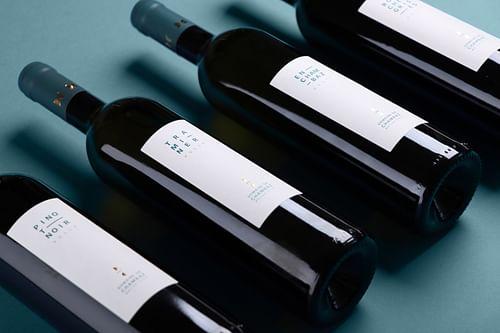 Étiquettes de vin Domaine de Chambaz - Design & graphisme