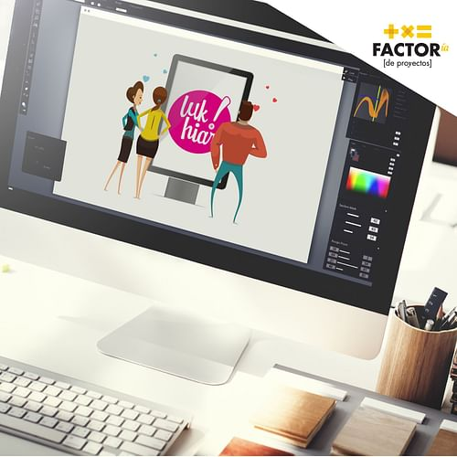 Equipo marketing para LUK HIAR Digital Signage - E-commerce