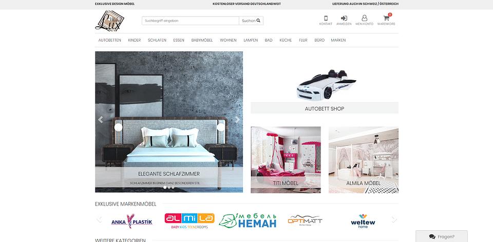 Möbel-Lux xt:Commerce Onlineshop