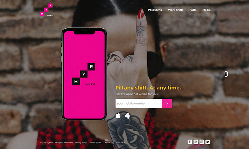 Hyr Website Design & Development - Website Creation