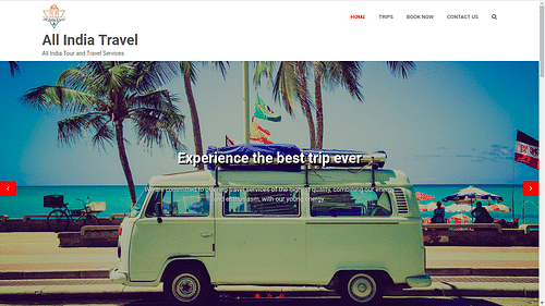All India Travel - Web Application