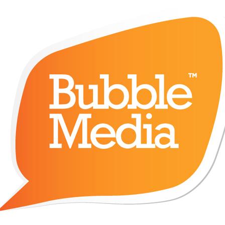 Bubble Media logo