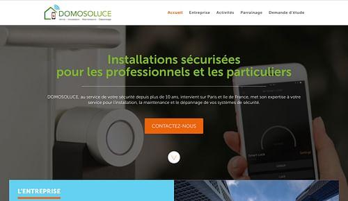 Domosoluce - Site internet - Création de site internet