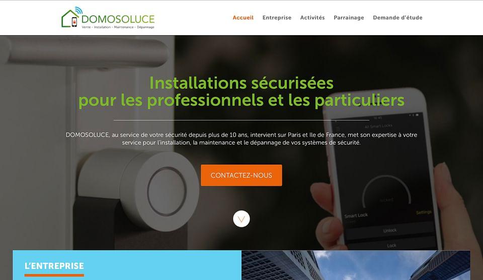 Domosoluce - Site internet