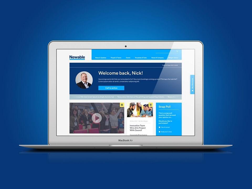 Newable Website