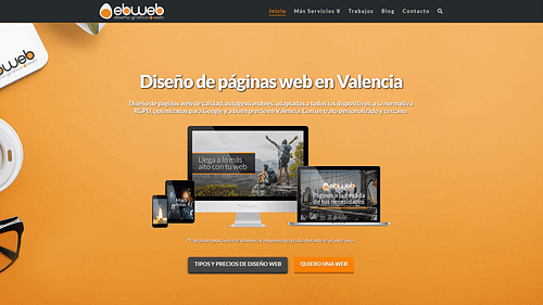 EBWEB - Creación de Sitios Web