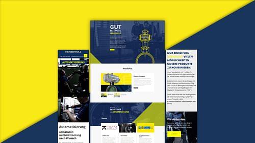 Herberholz Industriearmaturen - Werbung