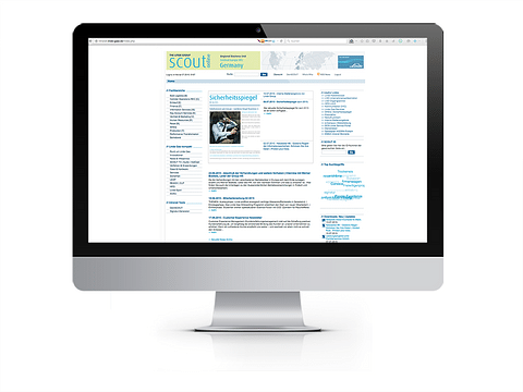 Linde Gas Intranet / individuelle Software-Lösung