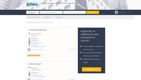 Infobel Website Infrastructure