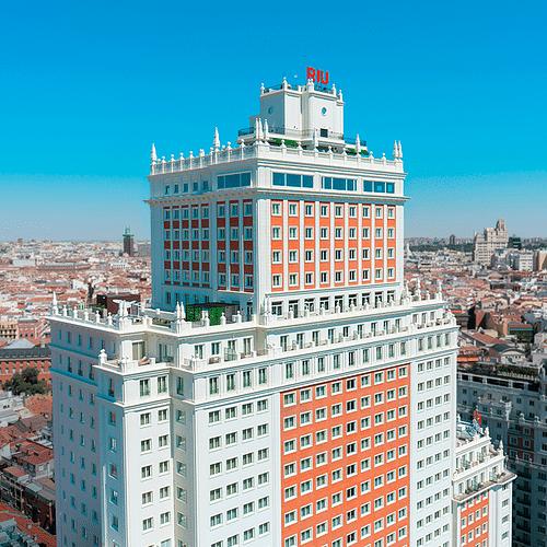 Hoteles RIU Plaza - Estrategia digital