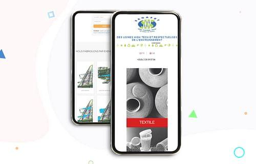 Sagaert -  Création du site et campagne nationale - Publicité en ligne