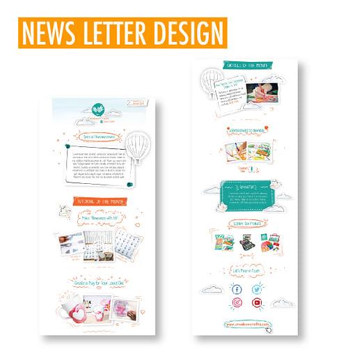 CREABOW CRAFTS - Website, graphic design, Video - Website Creation
