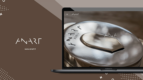 Site vitrine Anart