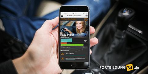 Mit App zur praktischen Fahrprüfung