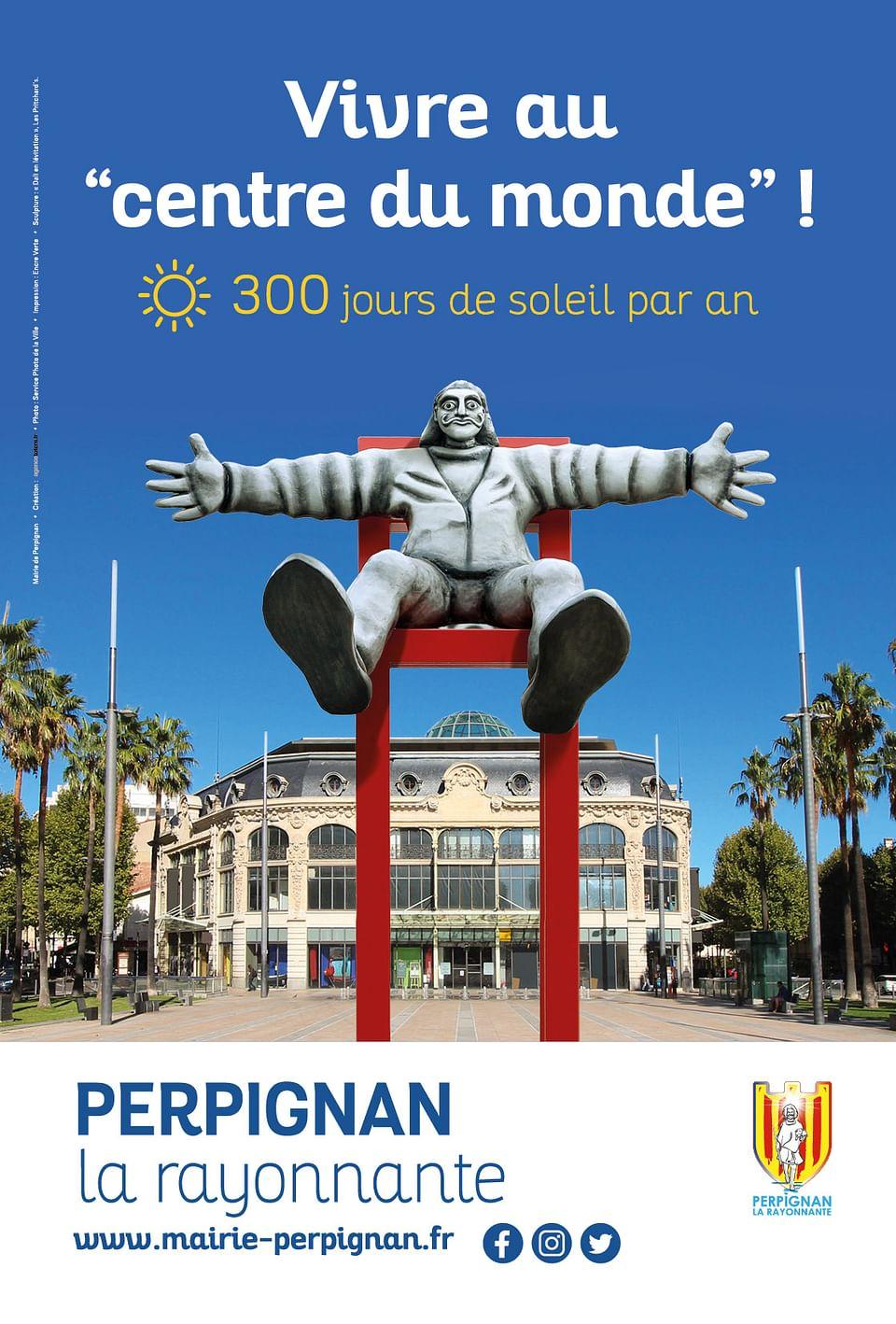 Campagne publicitaire - Ville de Perpignan