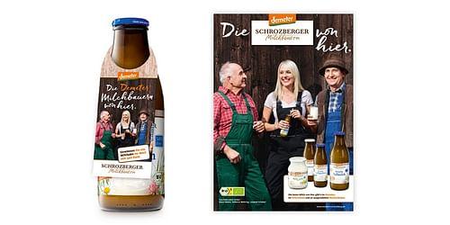 Schrozberger Milchbauern – Neupositionierung mi... - Grafikdesign