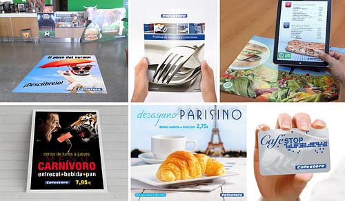 Comunicación Cafestore - Branding y posicionamiento de marca