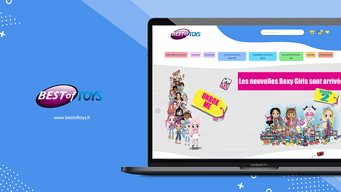 Site e-commerce Best of toys