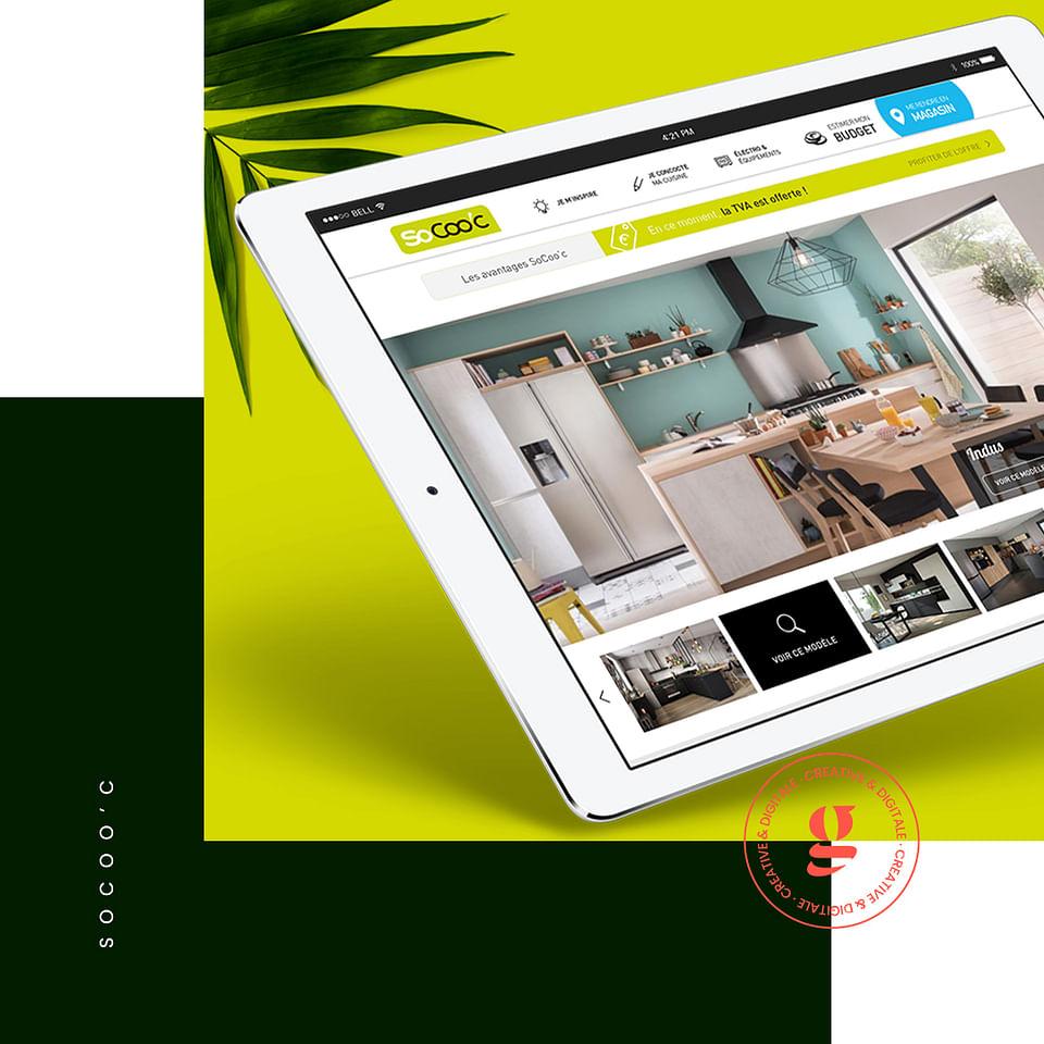 SoCoo'c - Nouveau Site web PWA