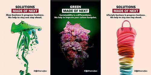 Imagekampagne Rhenoflex. Solutions Made of Next. - Werbung