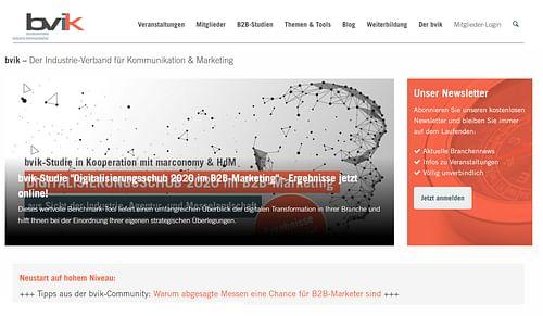 Bundesverband Industrie Kommunikation e.V. - Webseitengestaltung