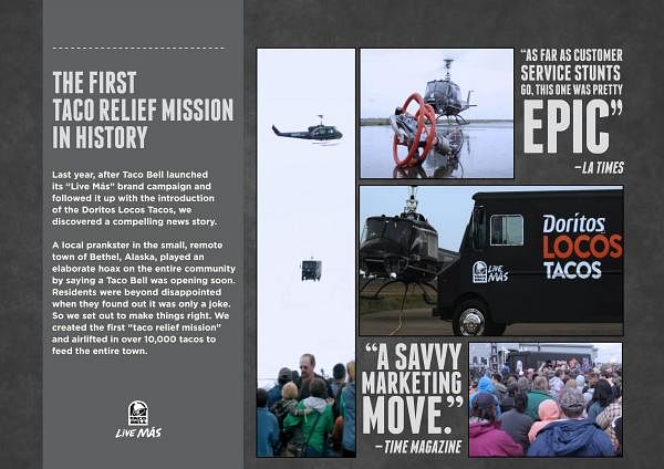 THE FIRST TACO RELIEF MISSION IN HISTORY