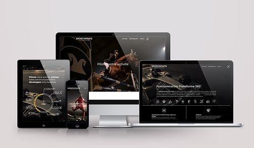 SportInfinite - Stratégies & création des supports - Image de marque & branding
