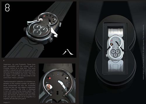 Design Industriel / Design Produit / Horlogerie - 3D