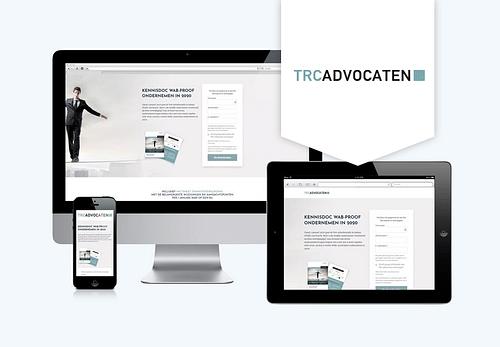 Inbound marketing TRC Advocaten - Website Creatie