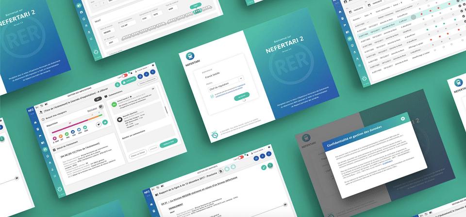 Mission UX/UI Design - RATP