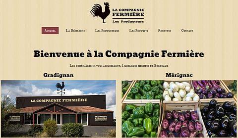 Création Web - La Compagnie Fermière