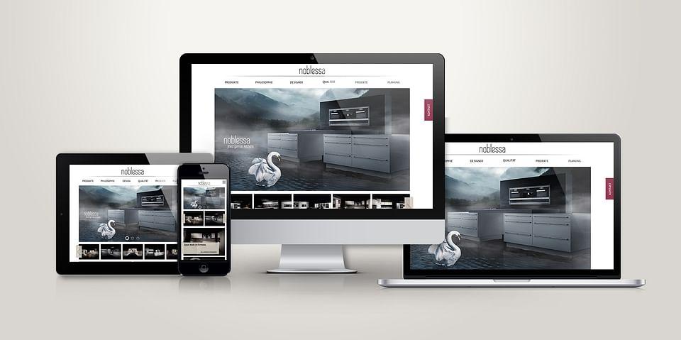 Ein neues Kleid für neue Märkte: Website & Mark...
