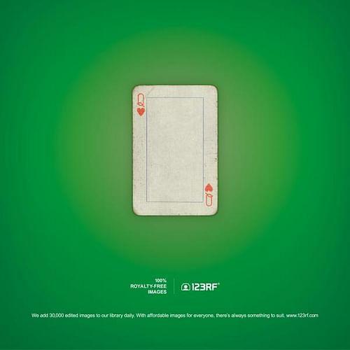 Playing card - Advertising