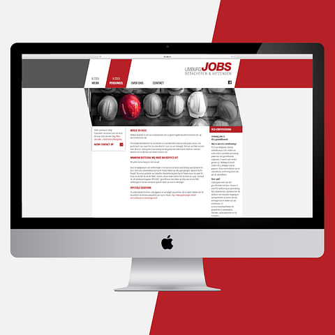 Website Limburg Jobs (responsive)