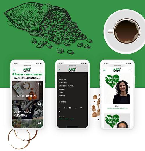 Productos ecológicos - fair trade: Alternativa3 - Estrategia digital