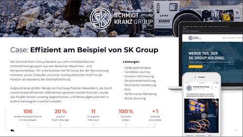 SK Group - Digitale Strategie