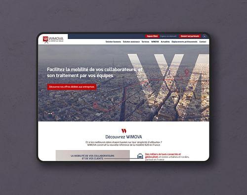 Wimova - Création de site internet