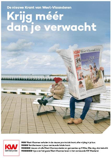 Krant van West-Vlaanderen - Online, E-mail, Movie - Publicité en ligne